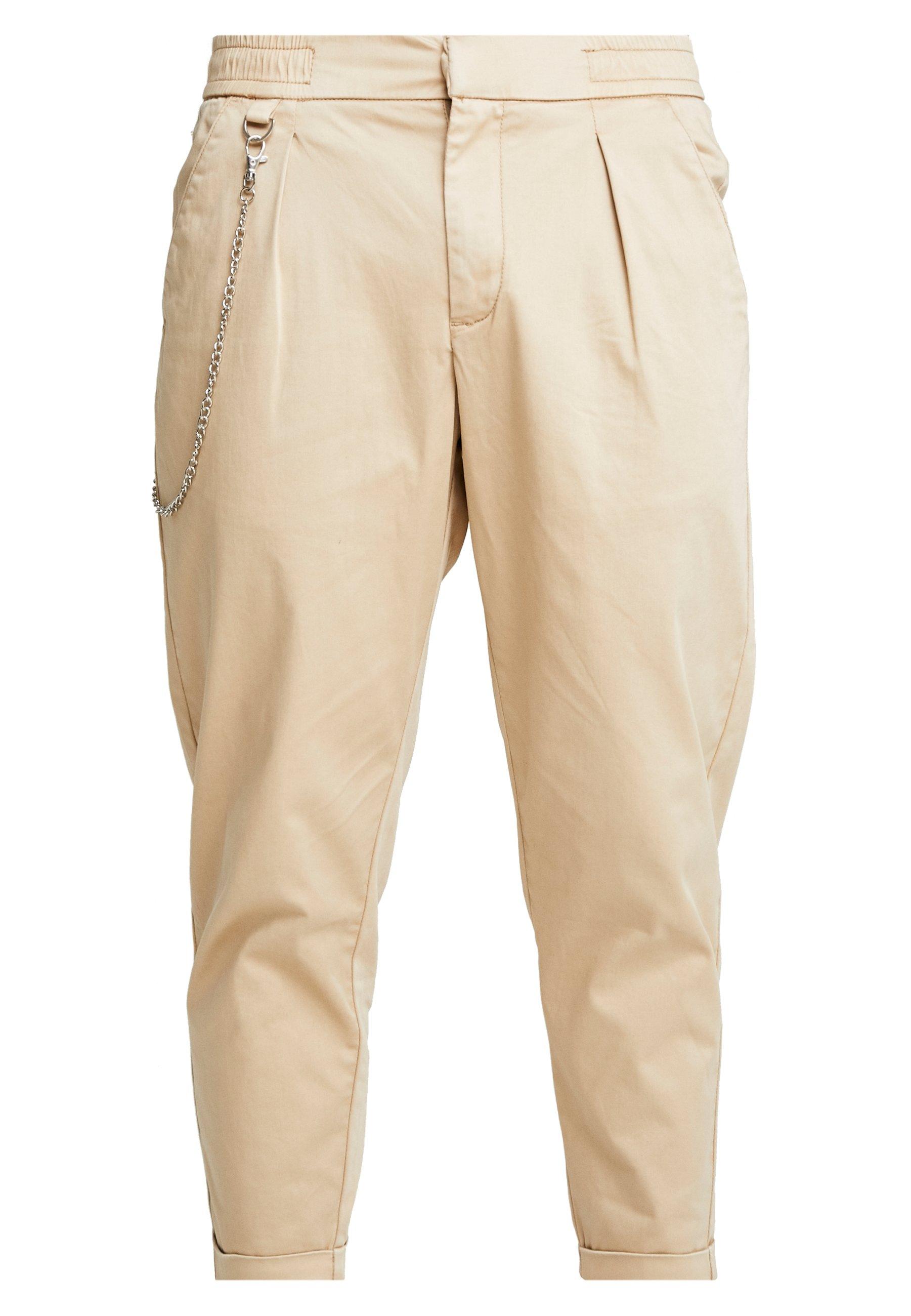 Men LEE CROPPED PANTS - Trousers
