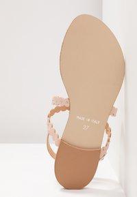 mint&berry - T-bar sandals - nude - 6
