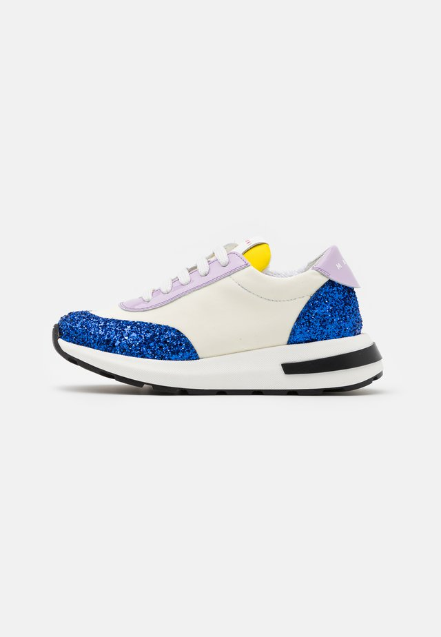 Sneakers basse - offwhite/blue