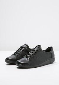 ECCO - SOFT 2.0 - Sneakers laag - black - 3