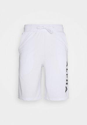 LIGHT - Teplákové kalhoty - white