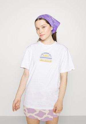 TARDI TEE - Print T-shirt - white