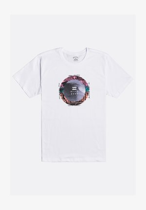PLUG IN  - T-shirt con stampa - white