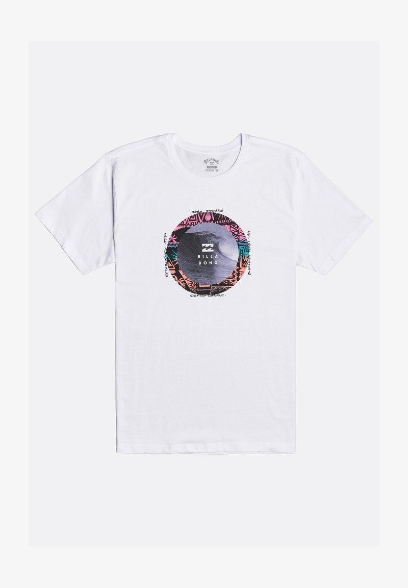 Billabong - PLUG IN  - Print T-shirt - white