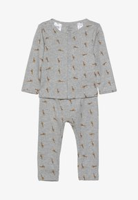 Carter's - BOY BABY SET - Leggings - Trousers - teal - 3