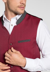 Spieth & Wensky - MAXDORF - Waistcoat - red - 2