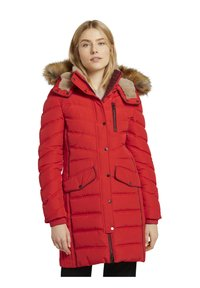 TOM TAILOR - SIGNATURE PUFFER COAT - Winter coat - strong red - 4