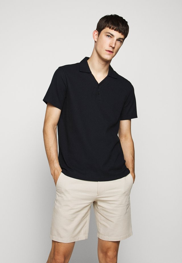SPLIT NECK - Polo shirt - navy
