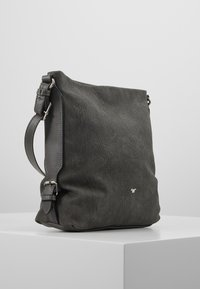 TOM TAILOR - PERUGIA - Across body bag - dark grey - 3