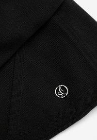 s.Oliver - MIT LOCHMUSTER-DETAILS - Cardigan - black - 2