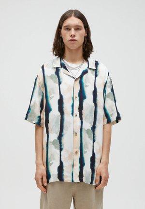 Shirt - mottled dark grey