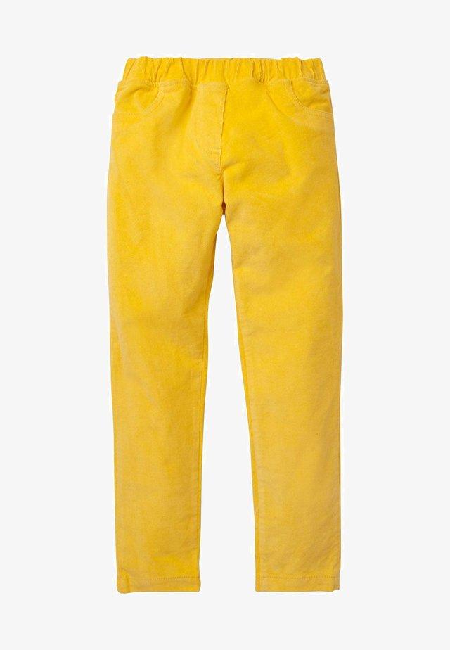 Trousers - honiggelb