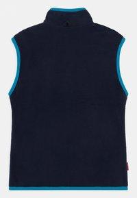 TrollKids - KIDS ARENDAL UNISEX - Waistcoat - navy/light blue - 1