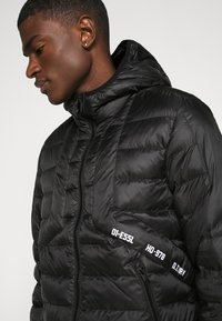 Diesel - W-DWAIN JACKET - Light jacket - black - 5