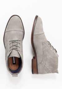 Madden by Steve Madden - JEGGAN - Zapatos con cordones - grey - 1
