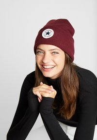 Converse - CHUCK PATCH  - Beanie - dark burgundy