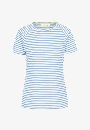 Print T-shirt - ocean stripe