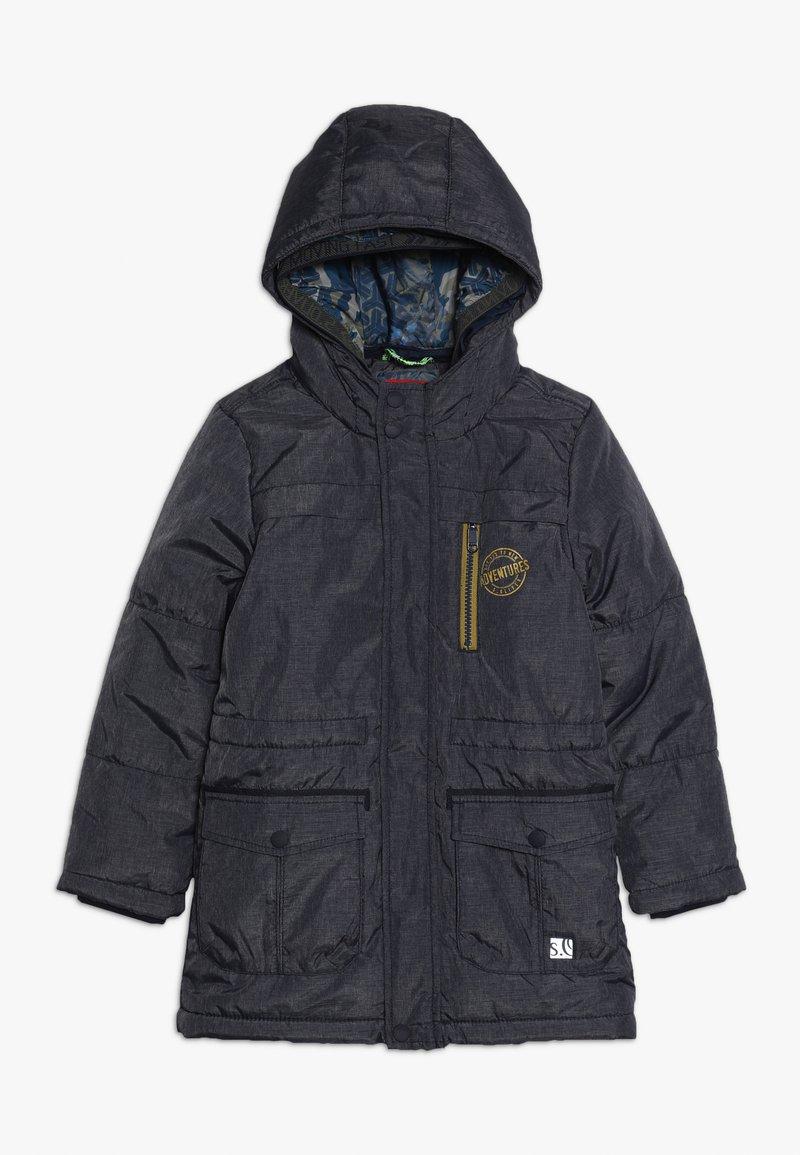 s.Oliver - MANTEL - Zimní kabát - dark blue melange