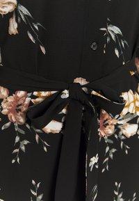 ONLY - ONLNOVA LUX  SHIRT DRESS - Sukienka koszulowa - black - 2