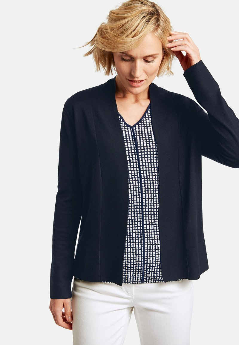 Gerry Weber Casual - STRICK - Cardigan - dark navy