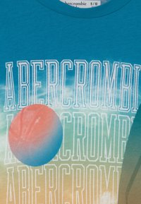 Abercrombie & Fitch - IMAGERY PRINT LOGO - Print T-shirt - blue - 2