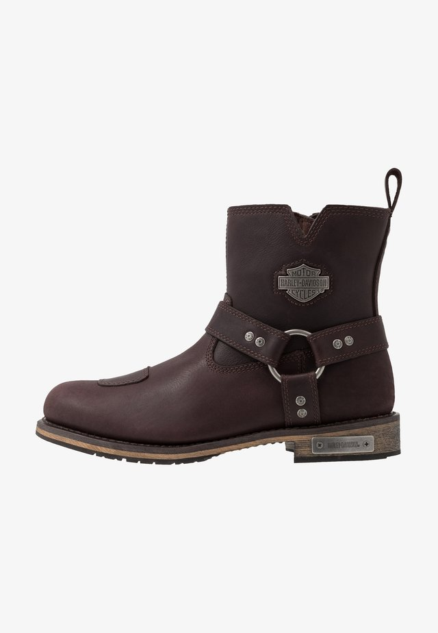 GINSBERG - Cowboy/biker ankle boot - porter