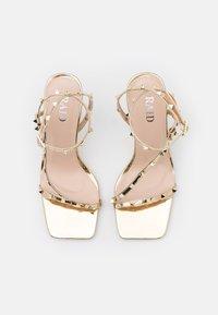 RAID - LURIANE - Korolliset sandaalit - gold metallic - 5