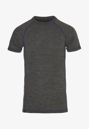 T-shirts med print - jet black