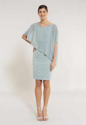 Cocktail dress / Party dress - light green / silver