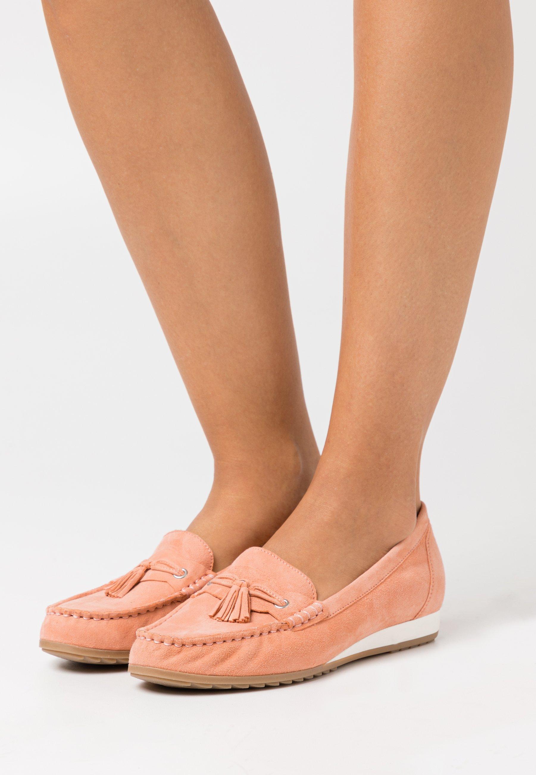 Damen Slipper - peach
