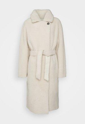 GINNIE - Classic coat - ecru