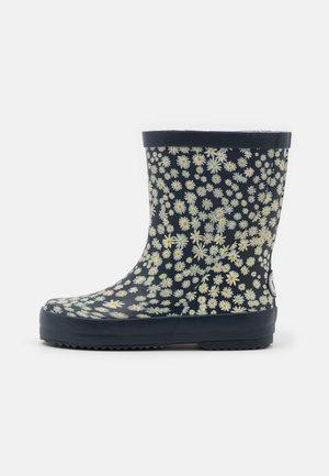 BOOTS ALPHA - Wellies - ink flowers
