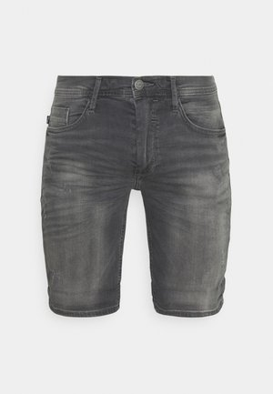 SCRATCHES - Denim shorts - denim grey