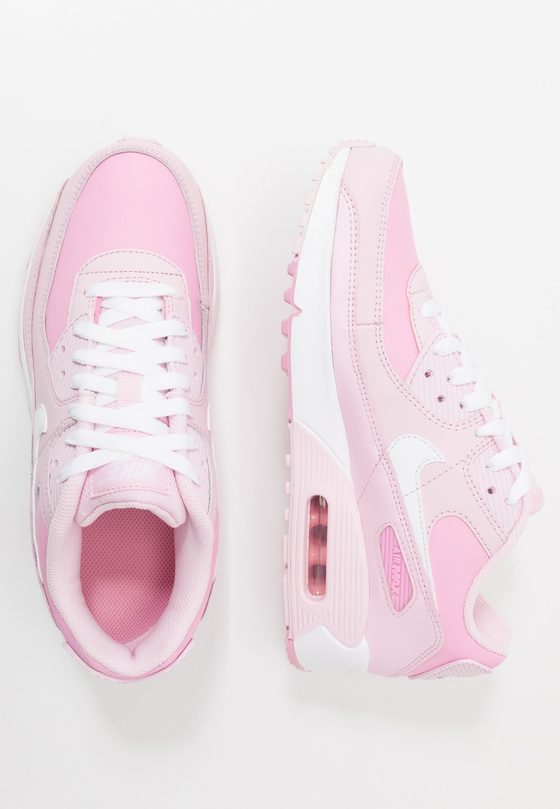 AIR MAX 90 - Sneakers laag - pink foam/white-pink rise