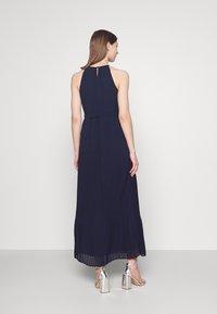 Vila - VIKATELYN HALTERNECK DRESS - Suknia balowa - navy blazer - 2