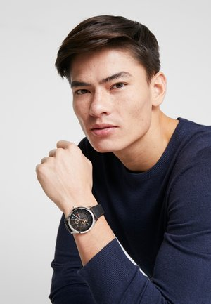 Watch - black/silver
