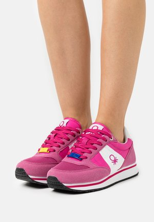 WORD MIX - Trainers - fucsia