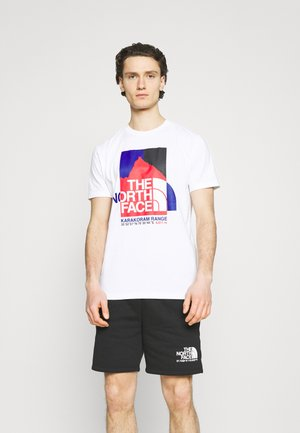 KARAKORAM GRAPHIC TEE - T-Shirt print - white