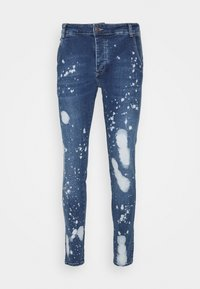 SIKSILK - SPACE JAM SLAM DUNK APPLIQUE - Jeans Skinny Fit - midstone - 3