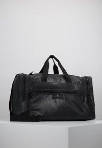 adidas by Stella McCartney - SQUARE DUFFEL M - Treningsbag - black/black/white - 0