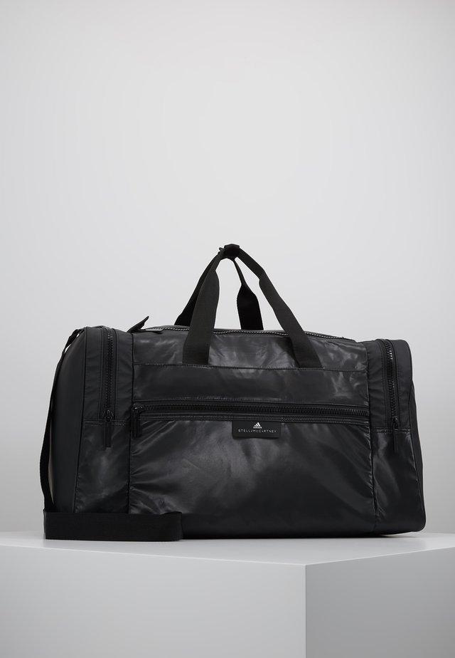 SQUARE DUFFEL M - Sporttas - black/black/white