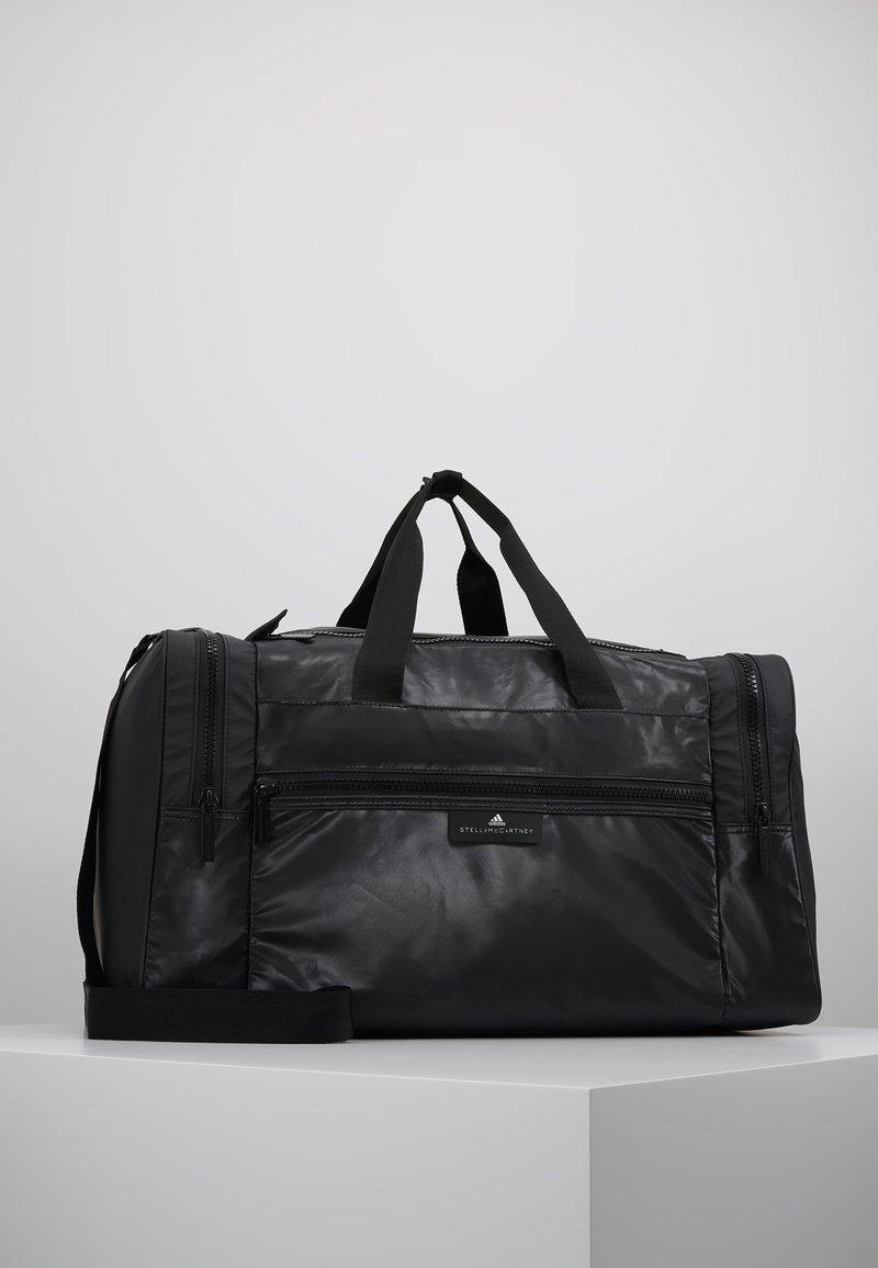 adidas by Stella McCartney - SQUARE DUFFEL M - Treningsbag - black/black/white