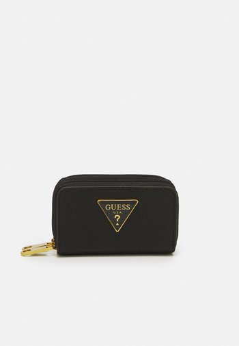 BRISA DOUBLE ZIP MINI WALLET - Wallet - black