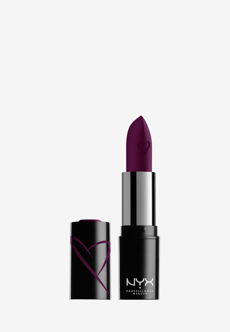 Nyx Professional Makeup - SHOUT LOUD SATIN LIPSTICK - Lippenstift - into the night