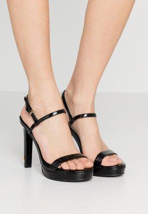BRINLEY - Sandály na vysokém podpatku - black