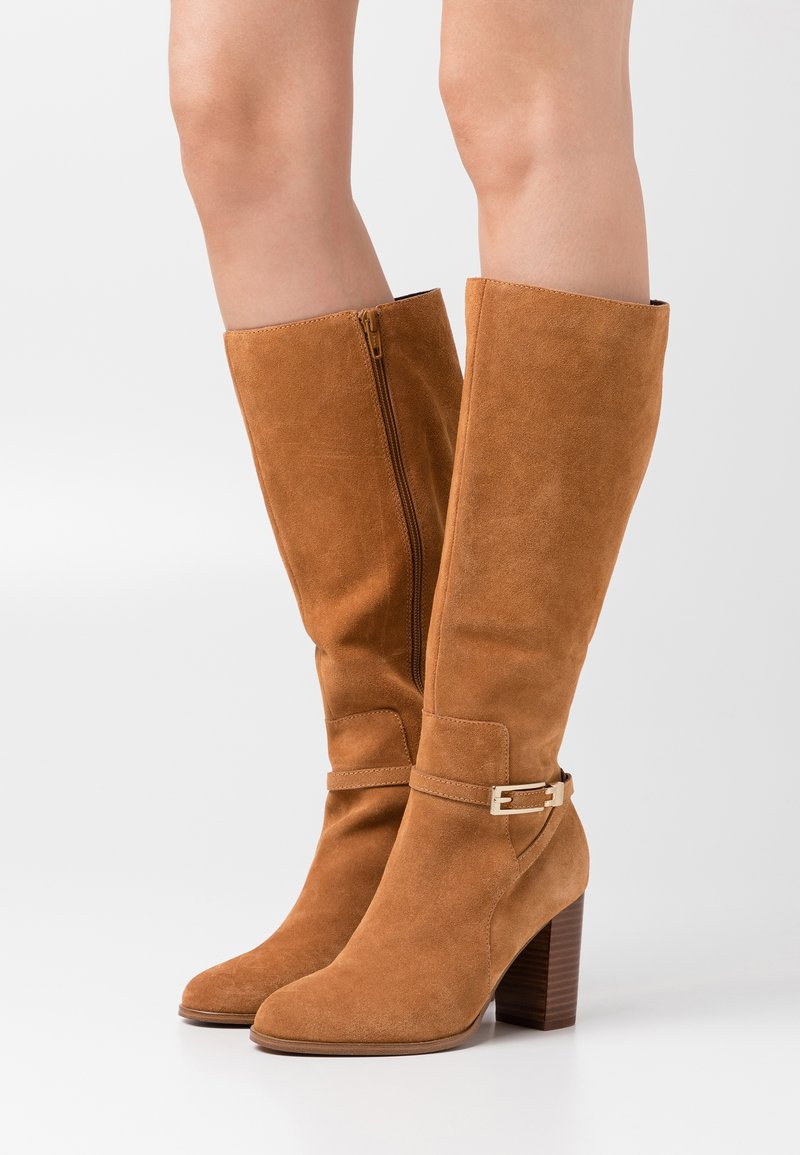 Anna Field - LEATHER - Boots - cognac