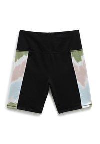 Vans - WM EMBERLY LEGGING SHORT - Shorts - black/tie dye - 1