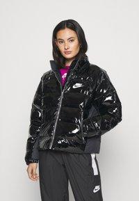 Nike Sportswear - ICON CLASH - Winter jacket - black/white - 0