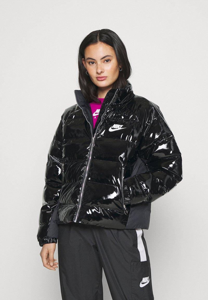 Nike Sportswear - ICON CLASH - Winter jacket - black/white