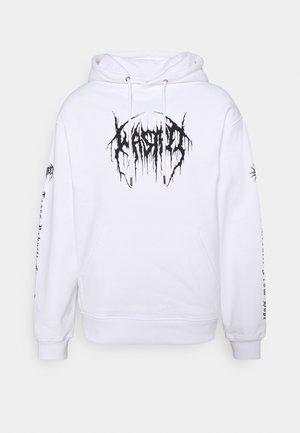 UNISEX HOODIE - Sweater - white